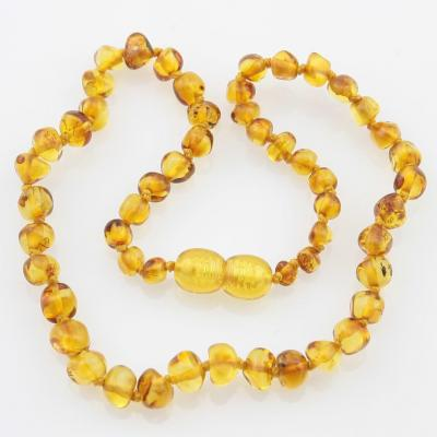 Amber Necklace - Honey Chip