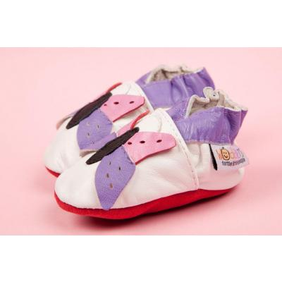 Colourful Butterfly Woddlers Baby Shoes