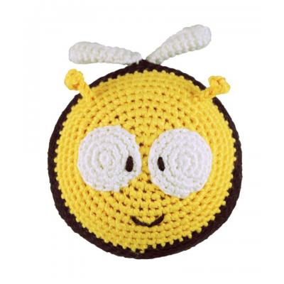 Dandelion Bee Roly Poly Rattle/Teether