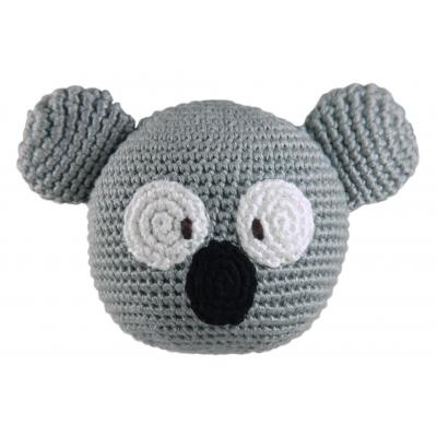 Dandelion Koala Bamboo Roly Poly Rattle Teether