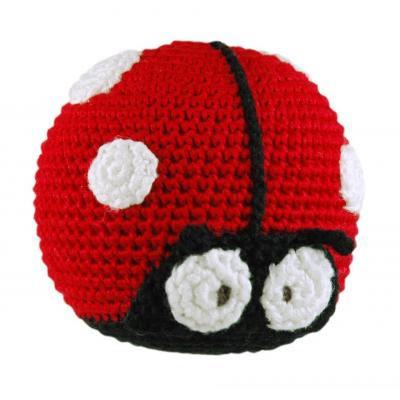 Dandelion Lady Bug Bamboo Roly Poly Rattle Teether