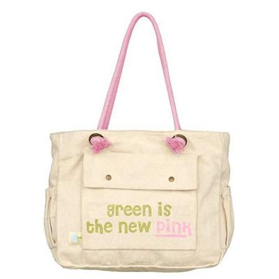 Dandelion Organic Cotton Tote Bag - Green is the New Pink