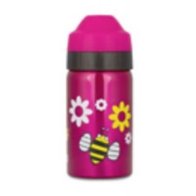 Ecococoon 350ml Spring Bees Pink Insulated Drink Bottle
