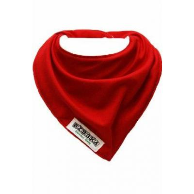 Fire Engine Red Organic Cotton/Bamboo Bibska Bib