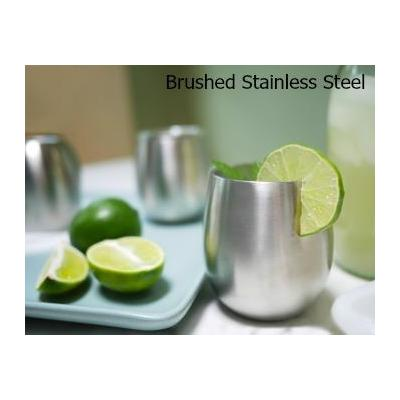 Insulated Stainless Steel Tumblers / Wine Glasses 236mls