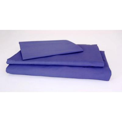 Kukunest Blue Tetonic Single Sheet Set