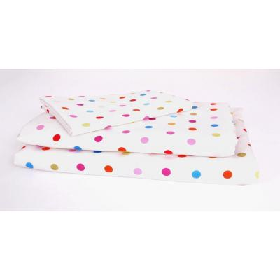 Kukunest Happy Dots Single Sheet Set