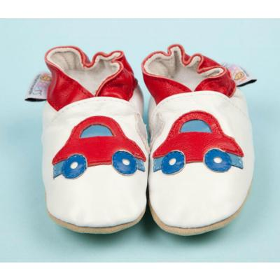 Little Red Car Woddlers Baby Shoes
