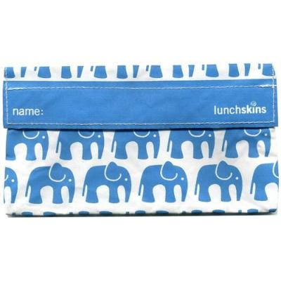 Lunchskins Aqua Elephant - Snack Size Bag