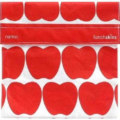 Lunchskins Red Apples - Sandwich Size Bag