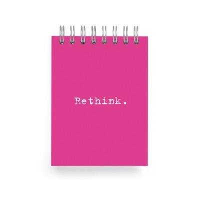 Mini Notebook Pink - Rethink by Ecojot