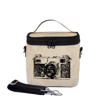 So Young Black Camera Large Insulated Cooler Bag