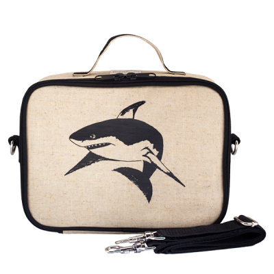 So Young Black Shark Insulated Lunch Box/Bag