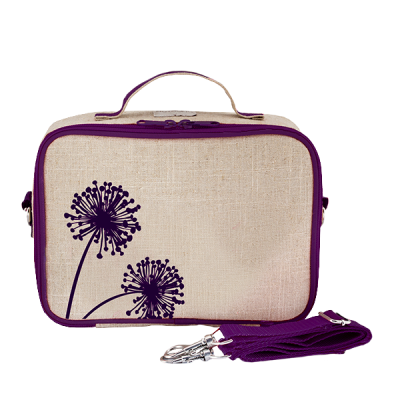 So Young Purple Dandelion Insulated Lunch Box