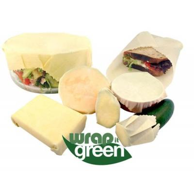Wrap it Green - Bees Wax Food Wraps set of 3